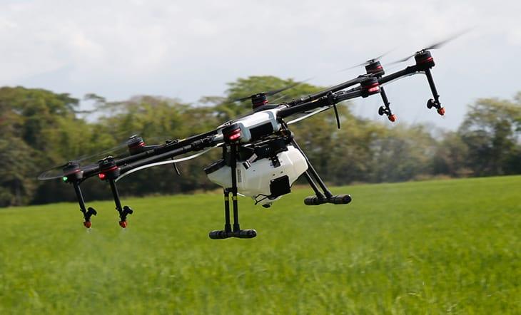 El Drone MG-1S